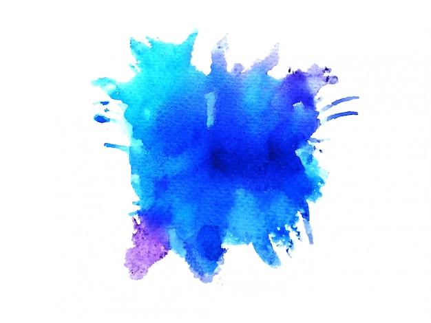 Kleurrijke aquarel achtergrond. kunst hand verf