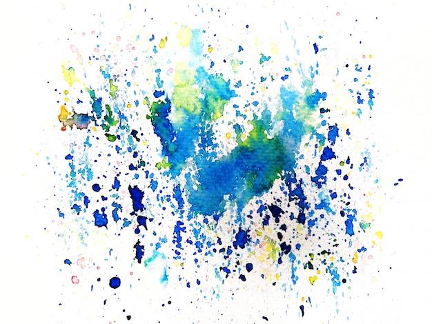 Kleurrijke aquarel achtergrond. kunst handverf