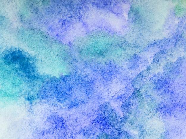 Kleurrijke aquarel achtergrond. met de hand geschilderd met een penseel
