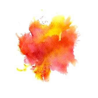 Kleurrijke aquarel achtergrond vector achtergrond