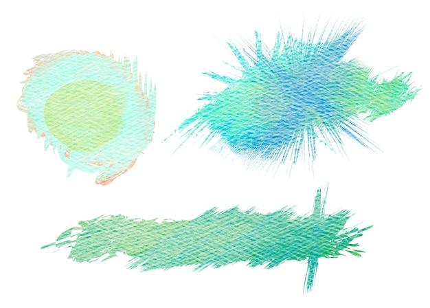 Kleurrijke aquarel geschilderde achtergrond. abstract digitaal schilderen.