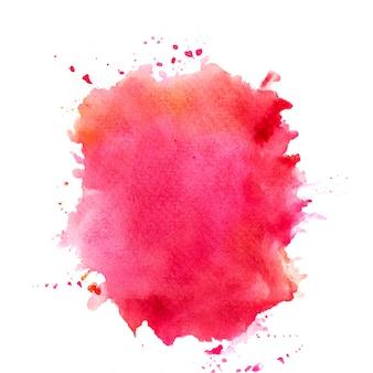 Kleurrijke aquarel splash.