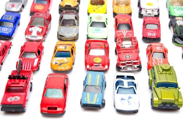 Kleurrijke auto speelgoed