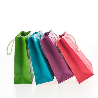 Kleurrijke boodschappentas