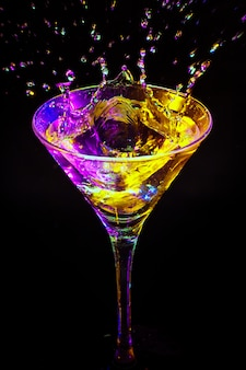 Kleurrijke cocktail Premium Foto
