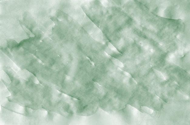Kleurrijke donkergroene waterverfachtergrond voor behang. aquarelle heldere kleurenillustratie