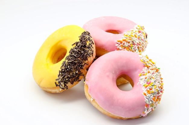 Kleurrijke donuts met hagelslag