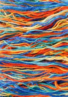 Kleurrijke draden