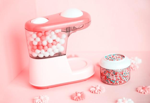 Kleurrijke en heldere snoepmachine