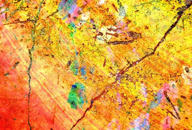 Kleurrijke gele textuurachtergrond