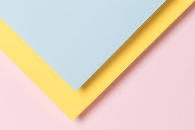 Kleurrijke geometrische kasten