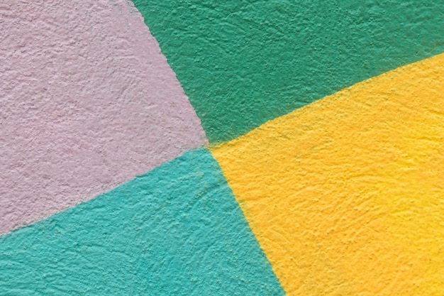 Kleurrijke getextureerde muur achtergrond