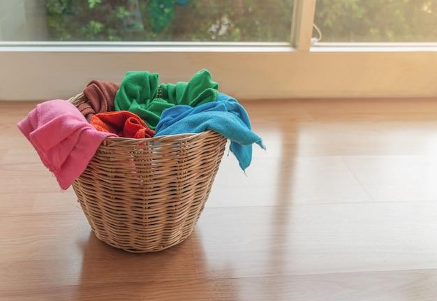 Kleurrijke handdoeken knipsel al gebruikt