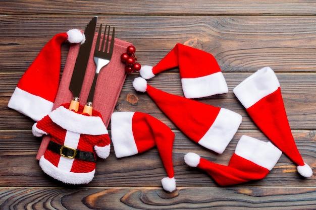 Kleurrijke kerst achtergrond met decoraties