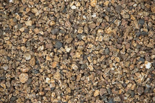 Kleurrijke kleine stenen zee kiezels achtergrond kleine stenen van naadloze textuur