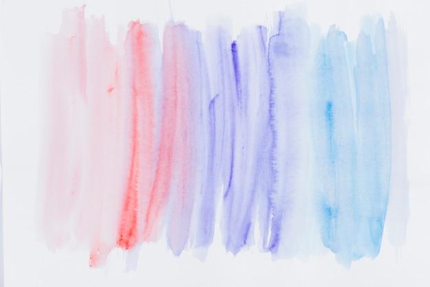 Kleurrijke kleurverloop aquarel penseelstreek textuur