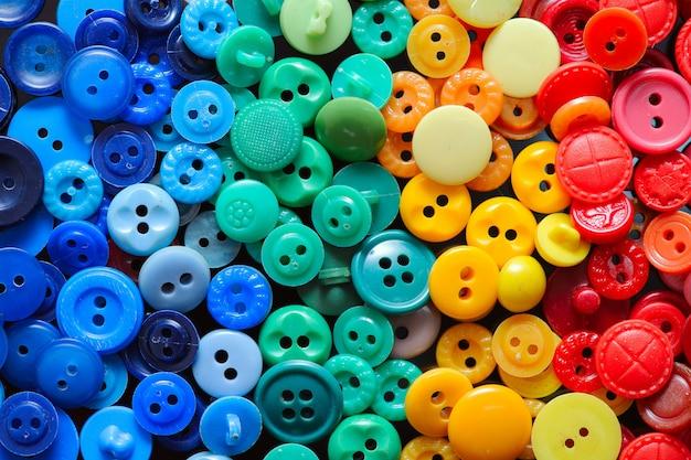 Kleurrijke knop