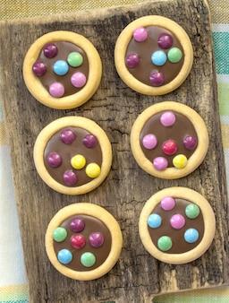 Kleurrijke koekjesglans