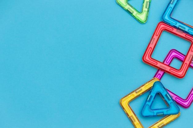 Kleurrijke magnetische kinderontwerper