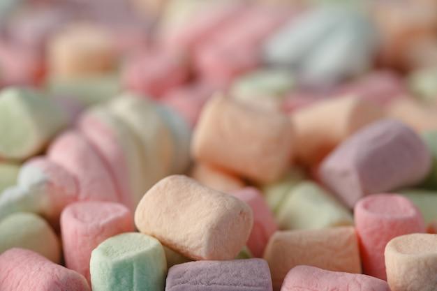 Kleurrijke marshmallow textuur achtergrond