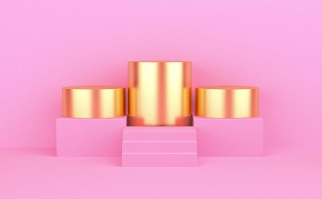Kleurrijke minimalistische geometrische abstracte achtergrond