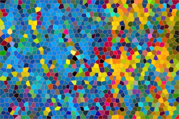 Kleurrijke mozaïek abstracte textuur achtergrond, patroon achtergrond van gradiënt behang