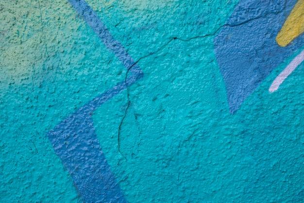 Kleurrijke muurschildering graffiti achtergrond