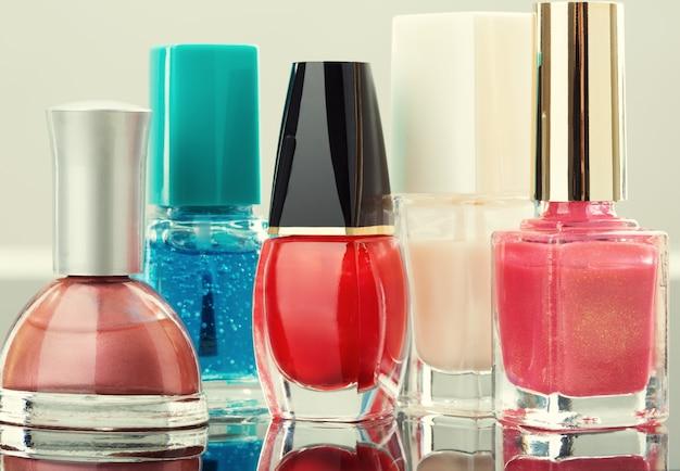 Kleurrijke nagellak