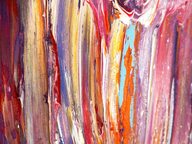 Kleurrijke olieverf abstracte achtergrond