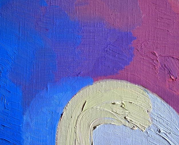 Kleurrijke olieverf multikleuren abstracte achtergrond.