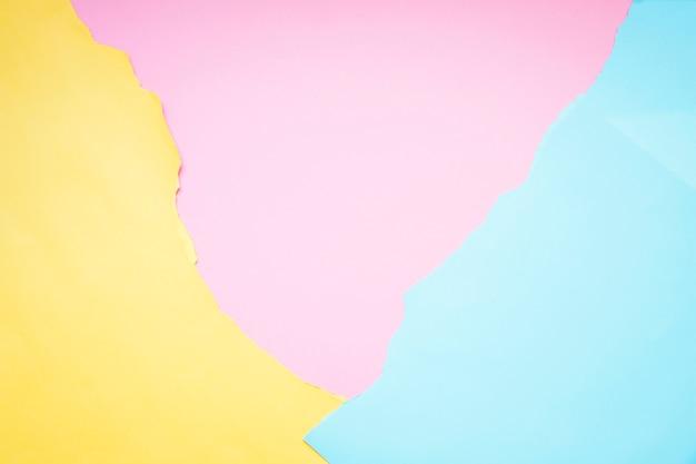 Kleurrijke papier achtergrond
