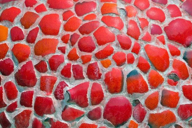 Kleurrijke patronen van tegelfragmenten