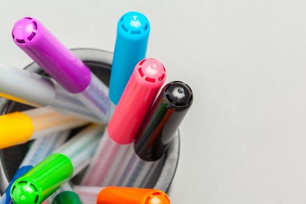 Kleurrijke pennen