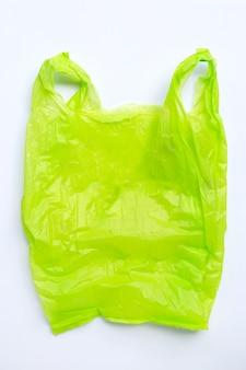 Kleurrijke plastic zakken kopieer de ruimte