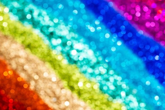 Kleurrijke regenboog glitter achtergrondstructuur