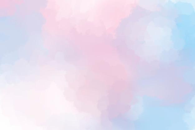 Kleurrijke rokerige aquarel getextureerde achtergrond