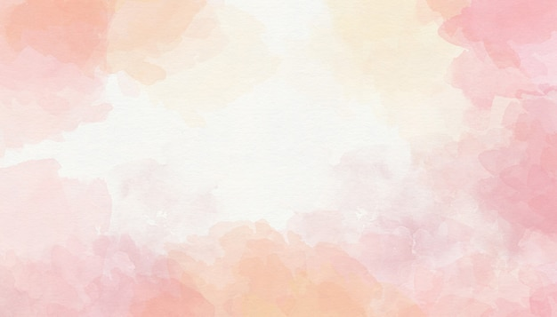Kleurrijke roze aquarel achtergrond