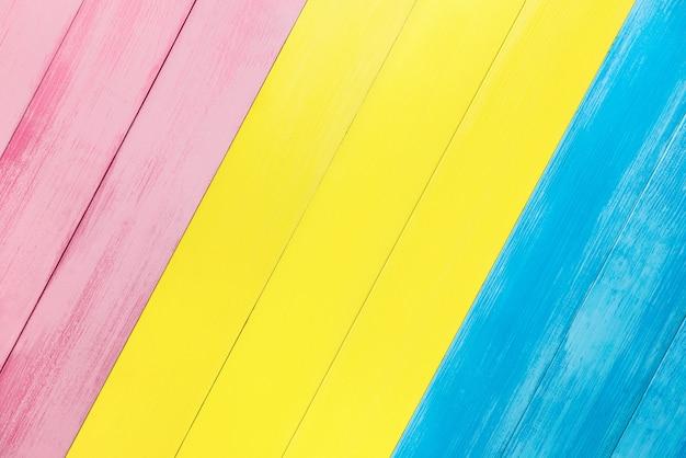 Kleurrijke scheve houten paneel textuur achtergrond