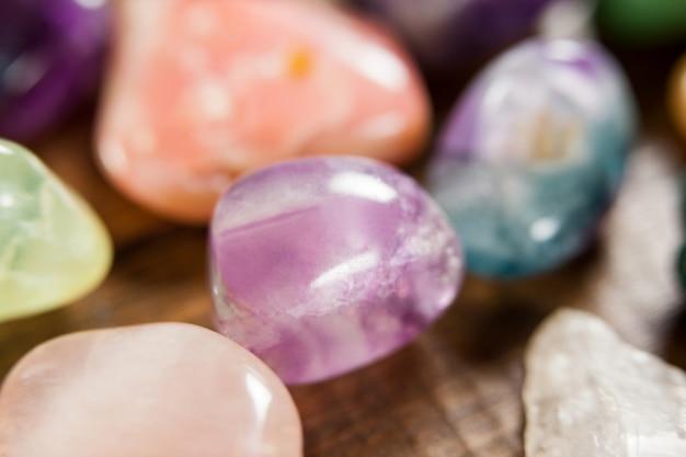 Kleurrijke steentjes stenen