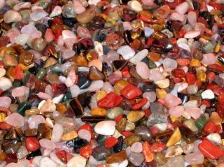 Kleurrijke stenen