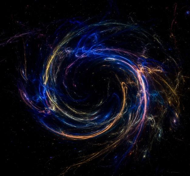 Kleurrijke ster veld achtergrond