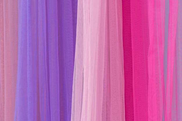 Kleurrijke stof achtergrond