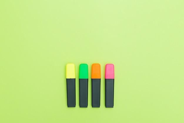 Kleurrijke tekstmarkeringen