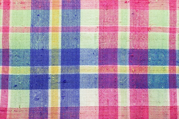 Kleurrijke thaise lendendoek stof achtergrond