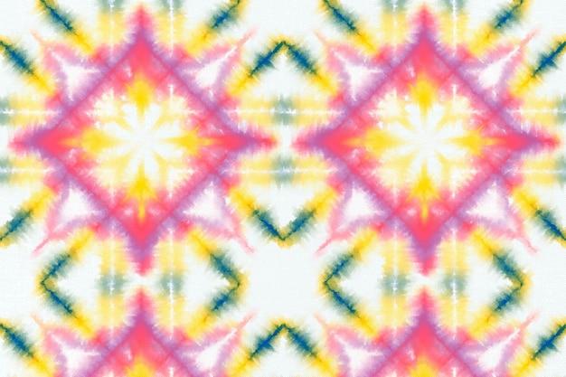 Kleurrijke tie-dye patroon achtergrond