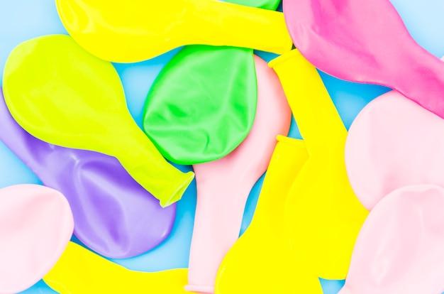 Kleurrijke verjaardagsballons