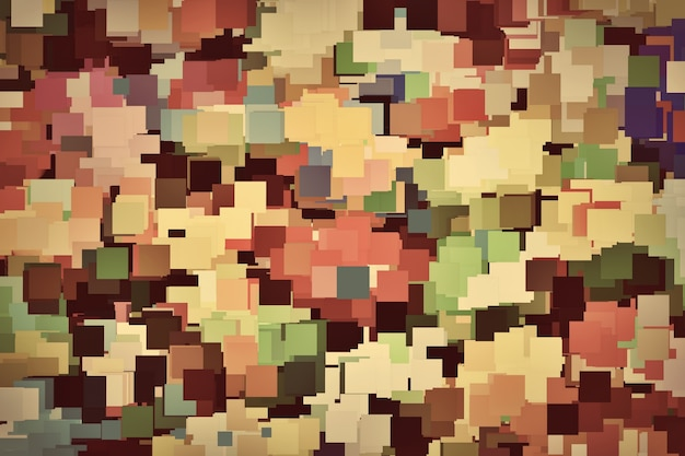 Kleurrijke vierkanten achtergrond