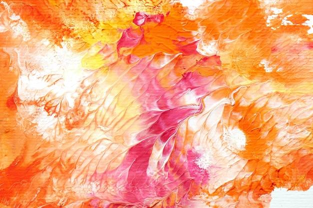 Kleurrijke vloeibare kunst achtergrond, contrasterende mix vloeibare verf. abstract zeemeermin textuur behang