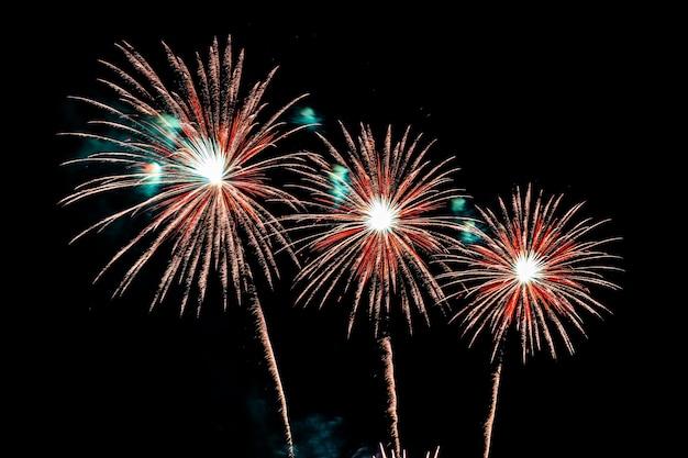 Kleurrijke vuurwerk