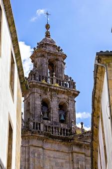Klokkentoren van de kathedraal van santiago de compostela